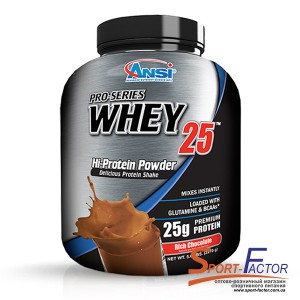 Pro-Series Whey 25 Rich Chocolate  2.268 kg