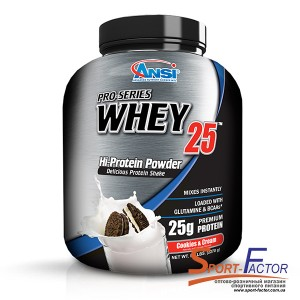Pro-Series Whey 25 Cookies & Cream  2.268 kg