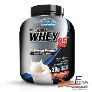 Pro-Series Whey 25 Ice Cream Vanilla  2.268 kg