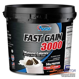 Fast Gain Cookies & Cream  5.44 kg