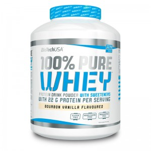 100% Pure Whey 2270 g jar strawberry