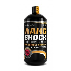 AAKG Shock Extreme 1000 ml bottle cherry
