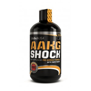 AAKG Shock Extreme 500 ml  bottle cherry