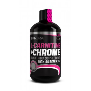 L-Carnitine 35.000 mg + Chrome concentrate Orange 500 ml bottle