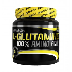 100% L-Glutamine 500g jar