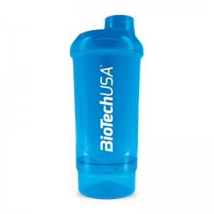 Shaker 2-х компонентный 500ml +150ml blue