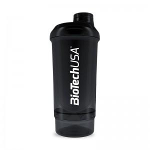 Shaker 2-х компонентный 500ml+150ml black-smoked