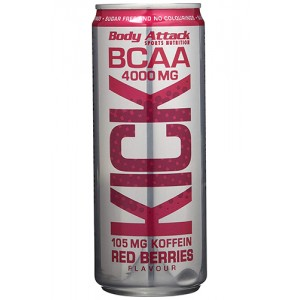 BCAA KICK - 330ml Red Berries