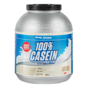 100% Casein Protein - 1800g Chocolate Cream