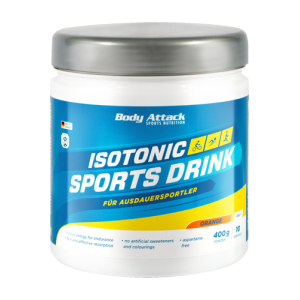 Isotonic Sports Drink Powder 400g Orange