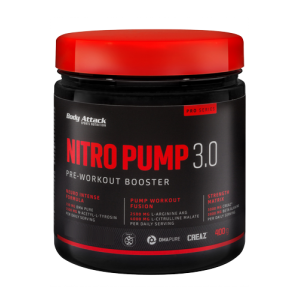 Nitro Pump 3.0 - 400g Peach Passion Fruit