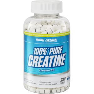 100% Pure Creatine - 240 Caps