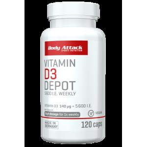 Vitamin D3 Depot 120 Caps