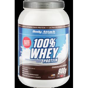 100% Whey Protein - 900g Vanilla