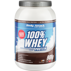 100% Whey Protein - 900g Chocolate