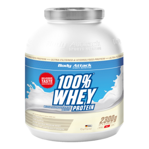 100% Whey Protein - 2300g  Strawberry Cream