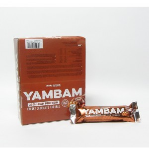 YAMBAM Bar - 80g Chocolate Caramel