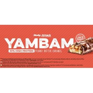 YAMBAM Bar - 80g Peanut Butter Caramel