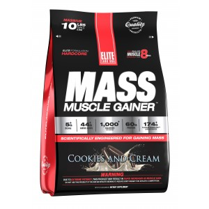 Mass Muscle Gainer Cookies and Cream 10.16 lb/4.6 kg