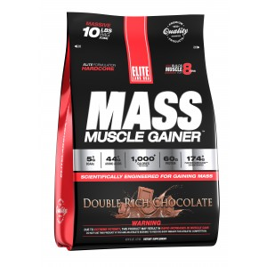 Mass Muscle Gainer Double Rich Chocolate 10.16 lb/4.6 kg