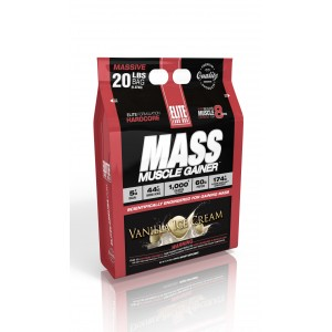 Mass Muscle Gainer Vanilla Ice cream 20 lb/9.7 kg