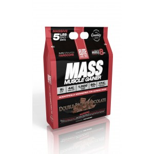 Mass Muscle Gainer Double Rich Chocolate 5 lb/2304 g