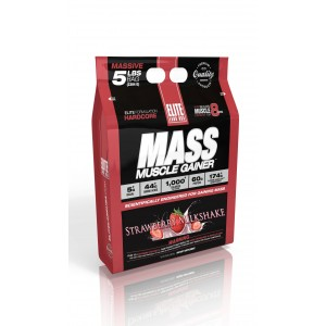 Mass Muscle Gainer Strawberry 5 lb/2304 g