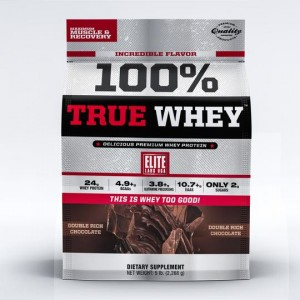 100% True Whey Double Rich Chocolate 5lb/2268 g