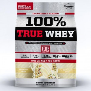 100% True Whey Birthday Cake 5lb/2268 g