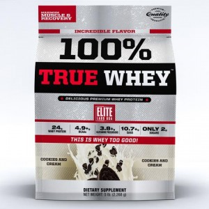 100% True Whey Cookies & Cream 5lb/2268 g