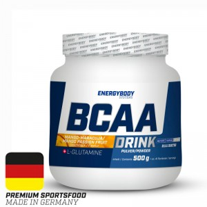 BCAA Drink passion fruit-mango 500 g