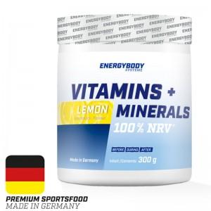 Vitamins Plus Minerals 300g lemon