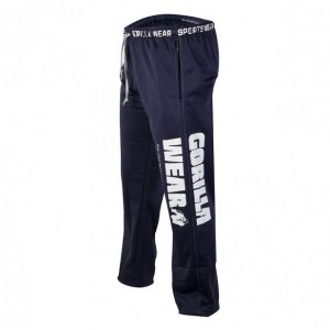 Gorilla Wear Logo Meshpants Blue S/M