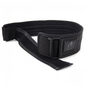 Gorilla Wear 4 Inch Nylon Belt   M/L