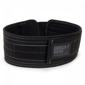 Gorilla Wear 4 Inch Nylon Belt   L/XL