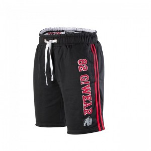 82 sweat shorts Black/Red 2XL/3XL