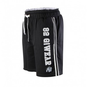 82 sweat shorts  Black/Gray S/M