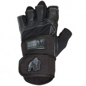 Dallas Wrist Wrap Gloves Black L