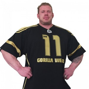 Athlete T-Shirt Dennis Wolf Black/Gold M
