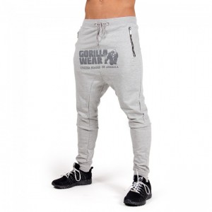 Alabama Drop Crotch Joggers Gray   L