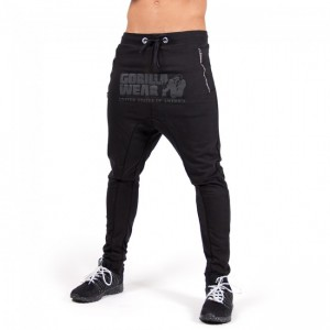 Alabama Drop Crotch Joggers Black   S