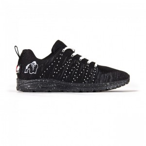 Brooklyn knitted sneakers Black/White 44