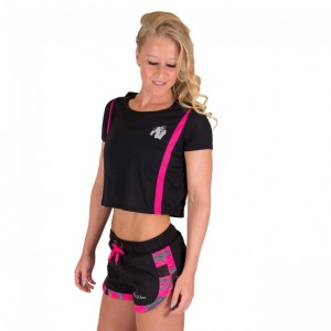 Columbia Crop Top Black/Pink    L