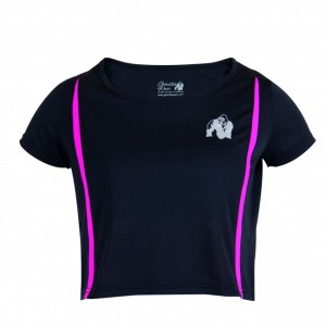 Columbia Crop Top Black/Pink    S