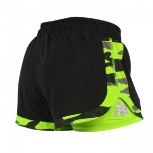 Denver Shorts Black/Neon Lime   M