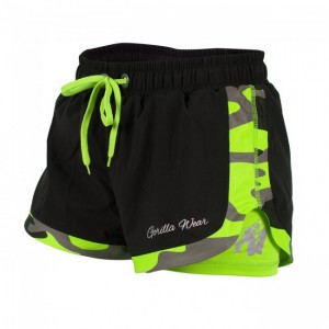 Denver Shorts Black/Neon Lime   XS