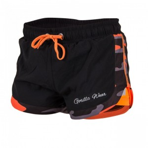 Denver Shorts Black/Neon Orange   XS