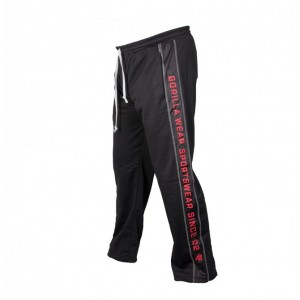 Functional Mesh Pants Black/Red S/M