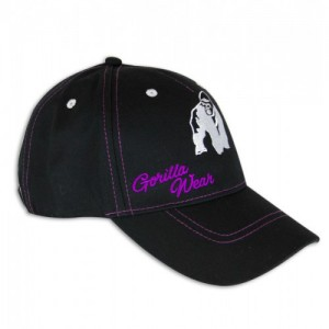 Lady Logo Cap Black/Purple