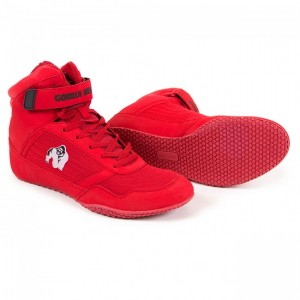 Gorilla Wear High Tops Red 38